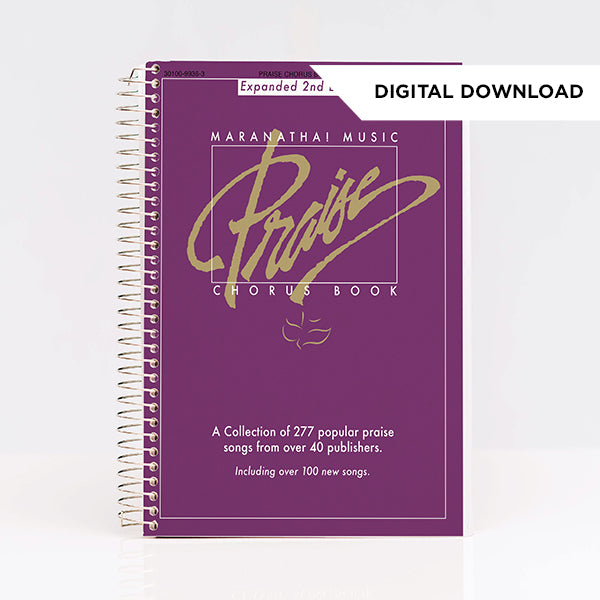 Praise Chorus Book Purple (Digital Download)