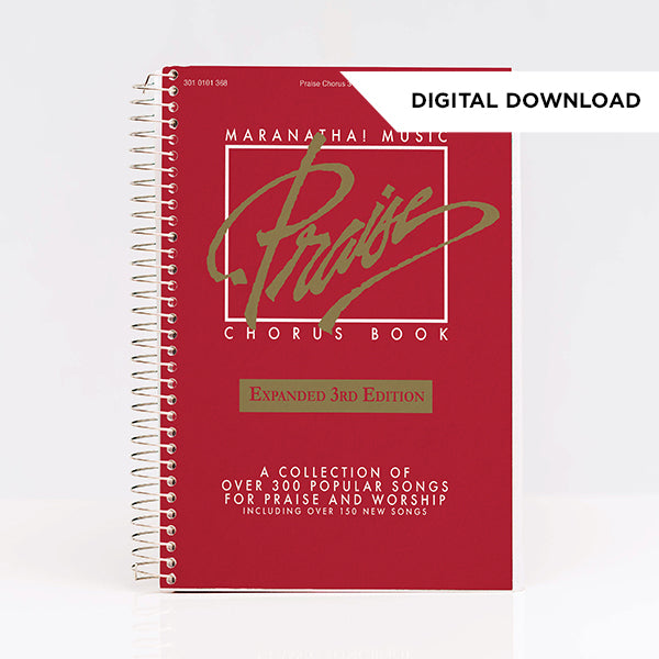 Praise Chorus Songbook RED (Digital Download)