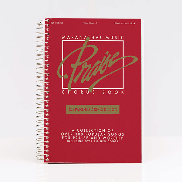 Praise Chorus Songbook RED