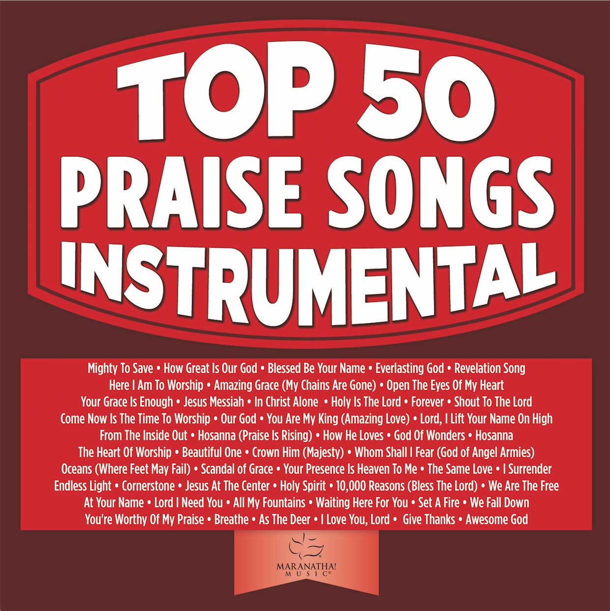 Top 50 Praise Songs Instrumental