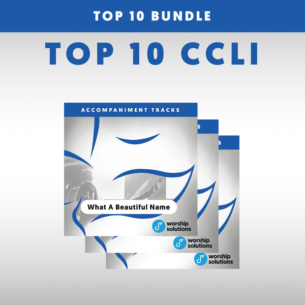 Top 10 Accompaniment Track CD Bundle