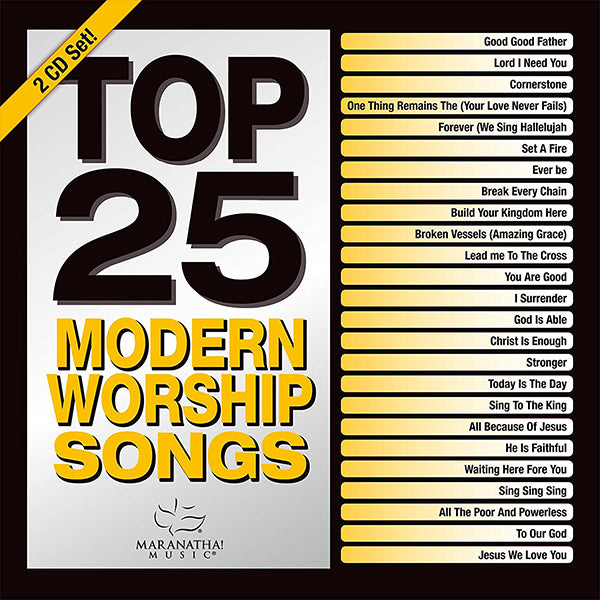 top 25 modern worship songs 2016
