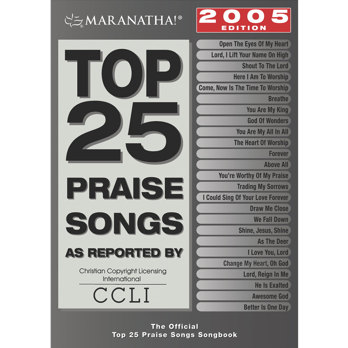 Top 25 Praise Songs 2005 Songbook
