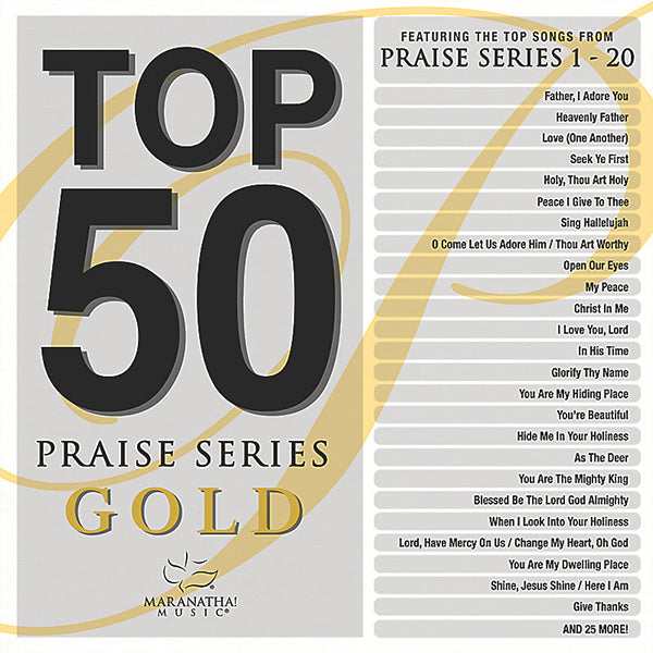 Top 50 Praise Series Gold