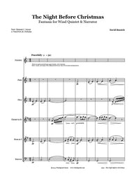 The Night Before Christmas Wind Quintet & Narrator