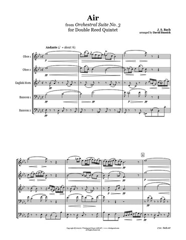 Bach Air Double Reed Quintet