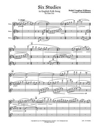 Vaughan Williams 6 Studies Flute Trio