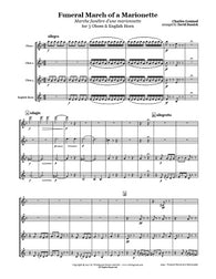 Gounod Funeral March Oboe/English Horn Quartet