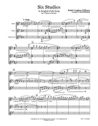 Vaughan Williams 6 Studies Flute/Clarinet Trio