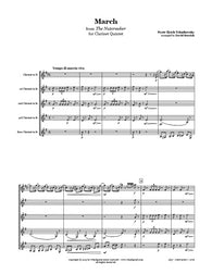 Nutcracker March Clarinet Quintet