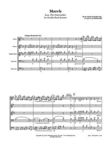Nutcracker March Double Reed Quintet