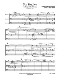 Vaughan Williams 6 Studies Bassoon Trio