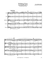 Grainger Walking Tune Double Reed Quintet