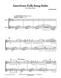 American Folk Song Suite Oboe Duet