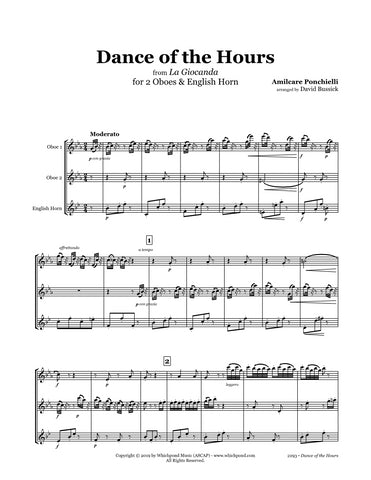 Ponchielli Dance of the Hours Oboe/English Horn Trio