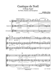 O Holy Night Flute/Clarinet/Sax Trio