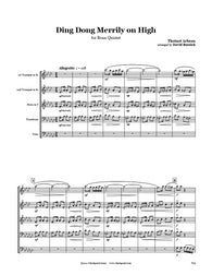 Ding Dong Merrily on High Brass Quintet