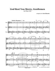 God Rest You Merry Gentlemen Flute Trio