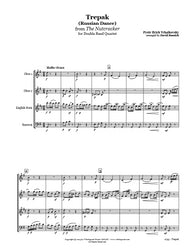 Nutcracker Russian Dance Double Reed Quartet