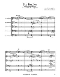 Vaughan Williams 6 Studies Clarinet Quintet