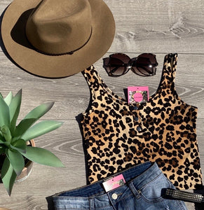 On The Prowl Leopard Tank Top (Small)