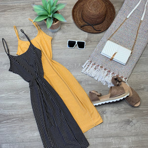 Style & Stripe Vibes Dress - Sun Baked (Large)