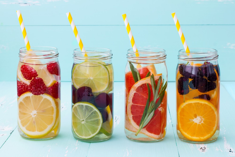 trend alert fruit infused water