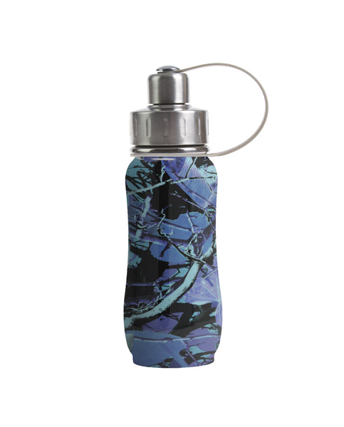 350 ml Jade 'Luxembourg Garden' stainless steel insulated water bottle greens your colour