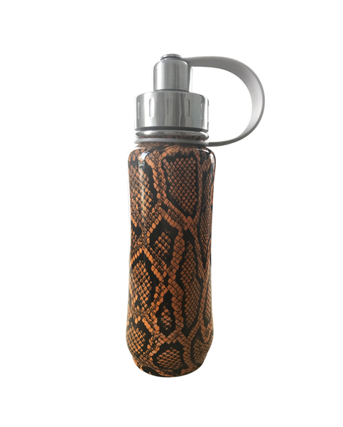 500 ml 'Vegan Snakeskin' Orange