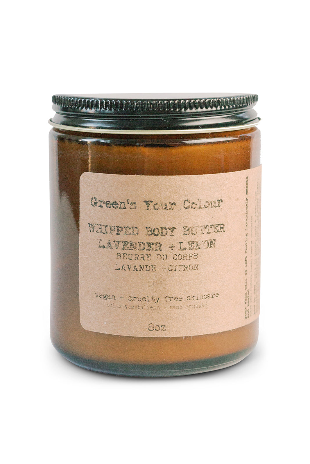 WHIPPED BODY BUTTER LAVENDER + LEMON