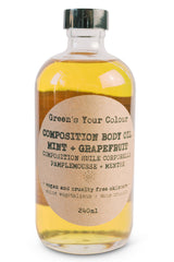 COMPOSITION BODY OIL MINT + GRAPEFRUIT