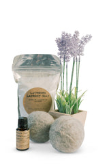 Lavender Laundry Soap Set