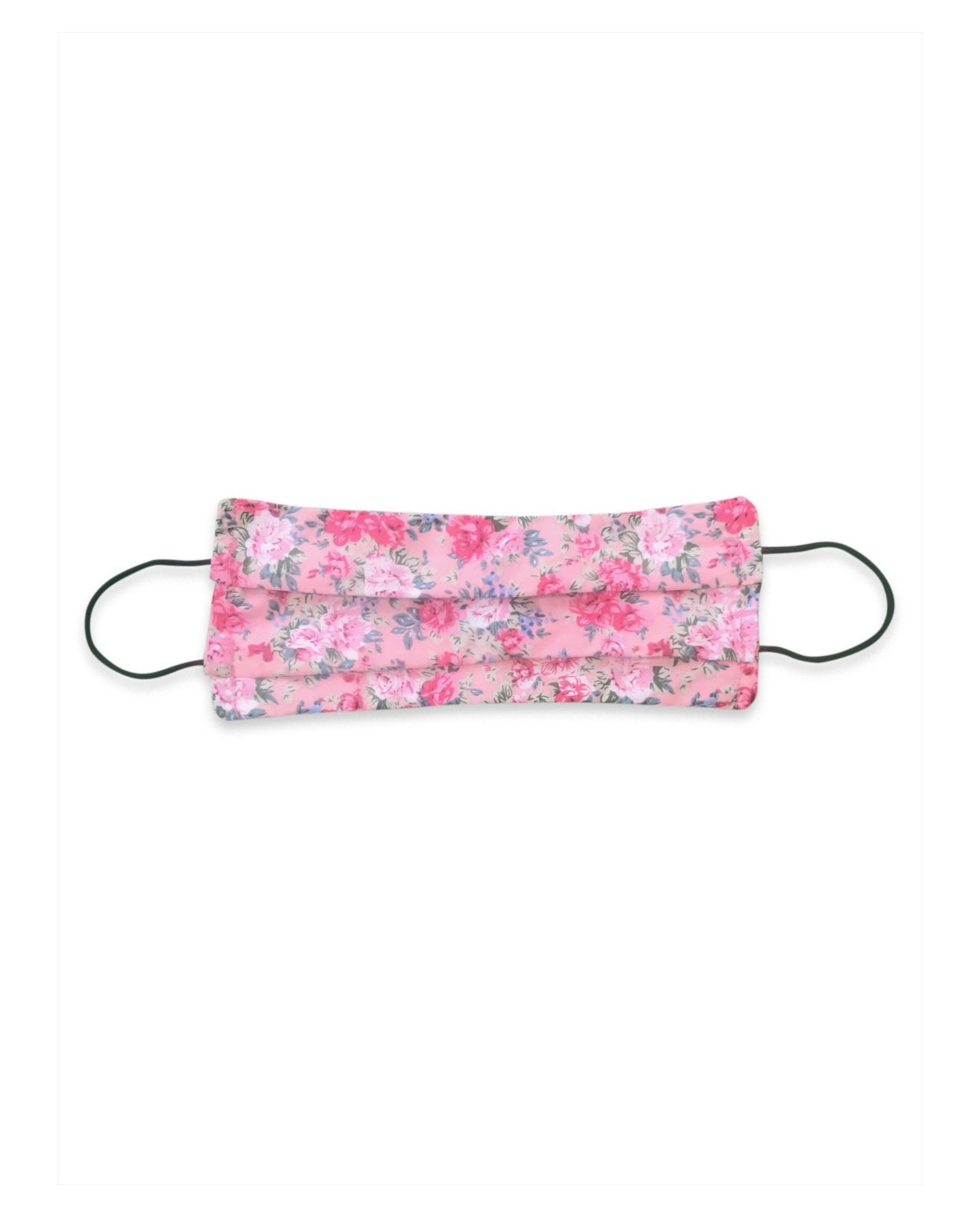 Protective Face Mask Pink Dainty Floral