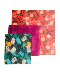 ULTIMATE BEESWAX WRAPS 3 PACK 'POP COLOUR'