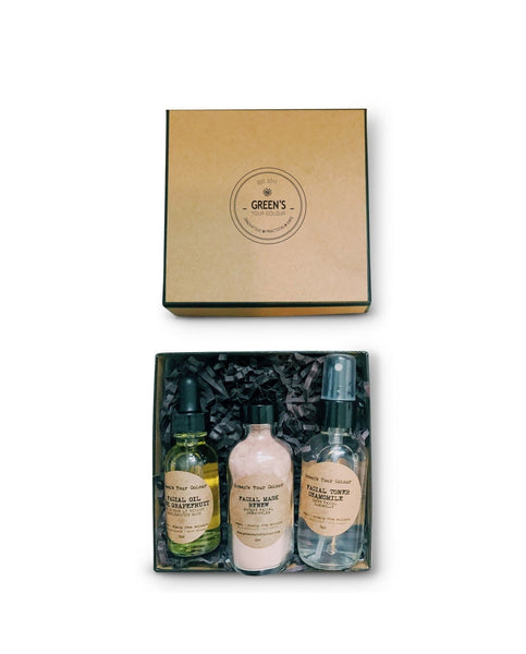 VEGAN FACE CARE KIT