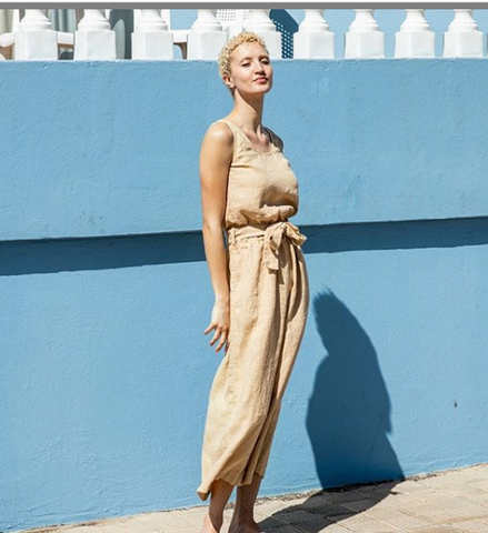 Linen Jumpsuit from Not Perfect Linen