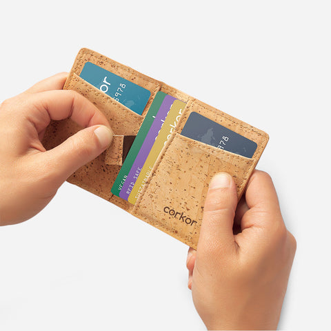 RFID Blocking Cork Wallet by Corkor | HowCork