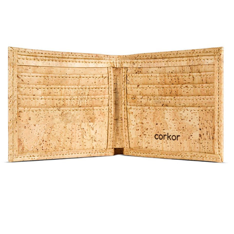 Bifold Men's Cork Wallet by Corkor at HowCork
