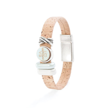 "Cork ""Love"" Bracelet 