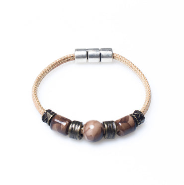 Marrone Beaded Bracelet | HowCork - The Cork Marketplace