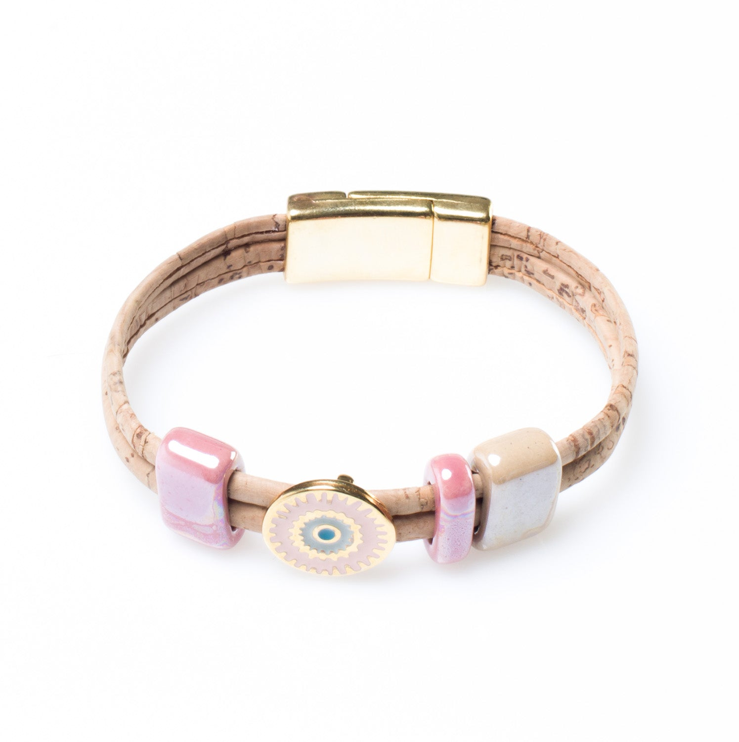 Art For The Cure Lucky Eye Bracelet - HowCork