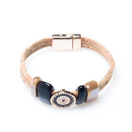 Lucky Eye Cork Bracelet - HowCork