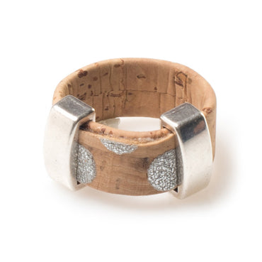 Silver Cork Ring | HowCork - The Cork Marketplace
