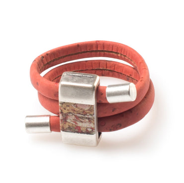 Red Cork Ring | HowCork - The Cork Marketplace