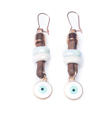 Cork Lucky Eye Earrings | HowCork - The Cork Marketplace