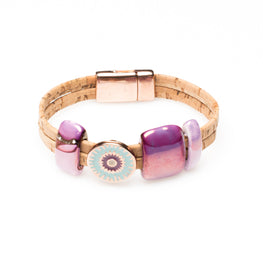 Art For The Cure Lucky Eye Bracelet | HowCork - The Cork Marketplace