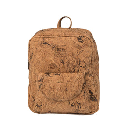 Cork Patterned Backpack - HowCork