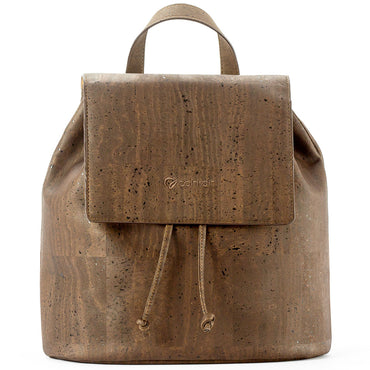 Brown Cork Backpack | HowCork - The Cork Marketplace