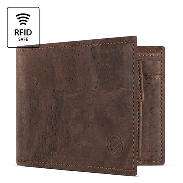 Men's Cork Wallet with Coin Pocket | HowCork - The Cork Marketplace