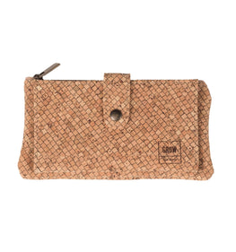 Cork Long Patterned Wallet - HowCork